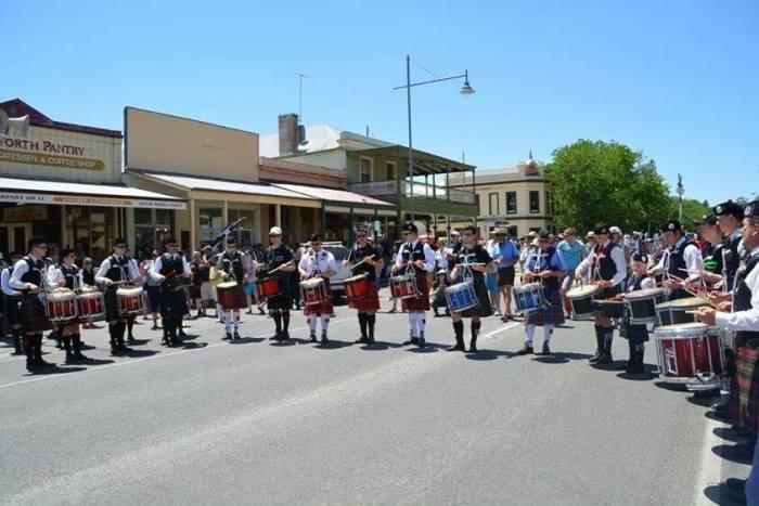 Massed Drum Corps 1