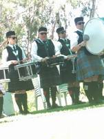 Drummers on the hill